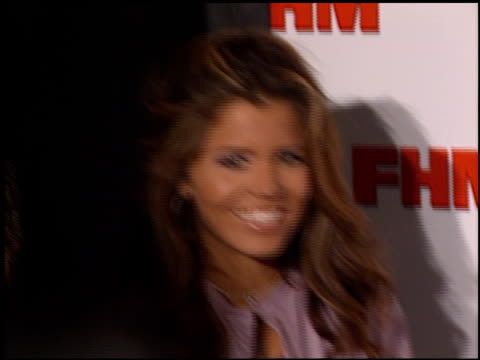Mindy Burbano at the FHM Magazine 100 Sexiest Women at La Boheme in West Hollywood California on May 17 2001
