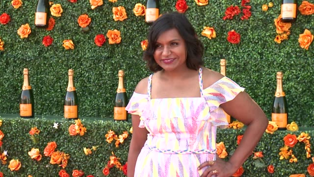 Mindy Kaling at Veuve Clicquot Polo Classic 2015 at Liberty State Park on May 30 2015 in Jersey City New Jersey