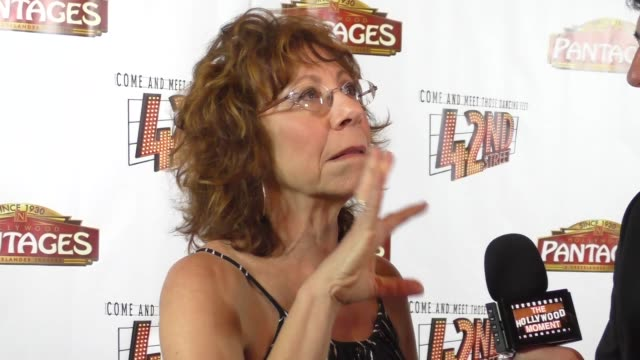 Mindy Sterling at the Opening Night Of 42nd Street at the Pantages Theatre in Hollywood in Celebrity Sightings in Los Angeles