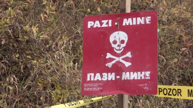 Mine disposal activities continue in BosniaHerzegovina on November 14 2017 Twentytwo years after the signing of the Dayton Peace Accord which ended...