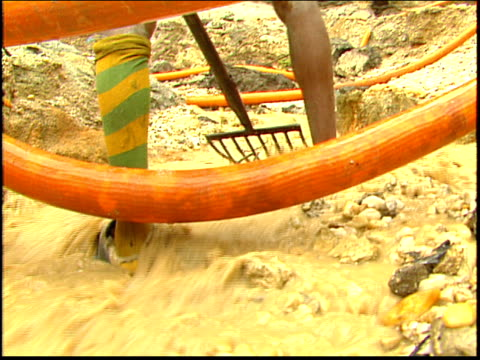 a miner sifts for gold in an amazon gold mine - roraima state stock videos and b-roll footage