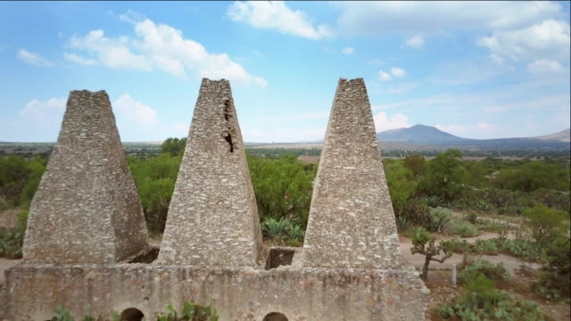mineral de pozos in san luis potosí mexico - land mine stock videos and b-roll footage