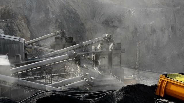 鉱物探査 - 炭鉱点の映像素材/bロール
