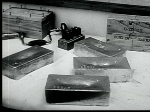 stockvideo's en b-roll-footage met 1940 mineral wealth of southern brazil - 1940
