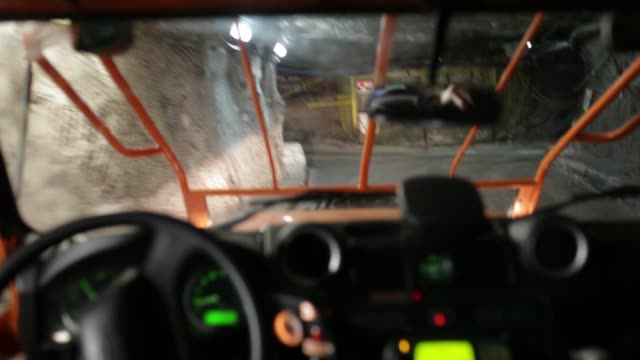 Miners enter the mine and prepare for the extraction of copper ore at KGHM Polska Miedz SA's underground mine in Lubin Poland on Tuesday March 24...