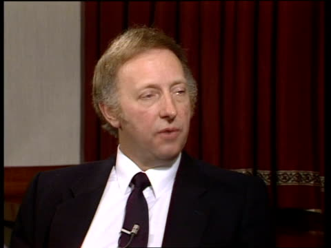 day 26; england: sheffield: int arthur scargill interview sot video ob via ytv tx 6.4.84 / nat - day26 stock videos & royalty-free footage