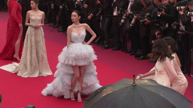 Ming Xi Guan Xiaotong at 'The Best Years of a Life ' Red Carpet Arrivals The 72nd Cannes Film Festival on May 18 2019 in Cannes France