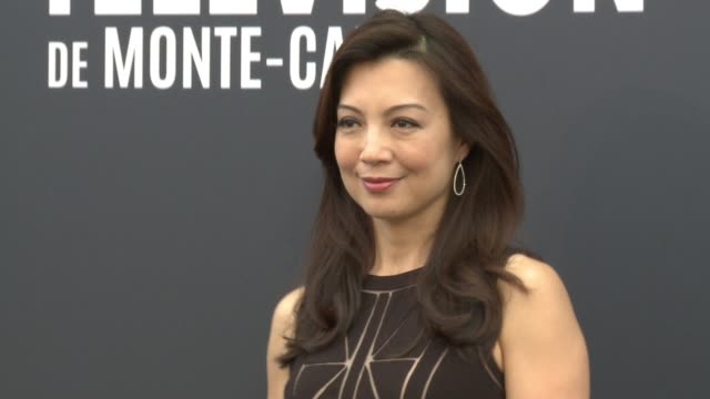 ming-na at 55th monte carlo tv festival : day 2 on june 16, 2015 in monte-carlo, monaco. - ming na stock videos & royalty-free footage