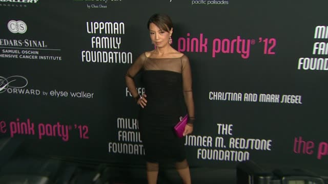 ming-na at the 8th annual pink party on in santa monica, ca. - ming na stock videos & royalty-free footage
