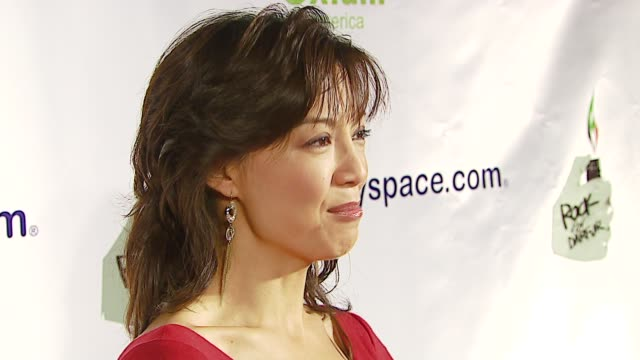 ming-na at the rock for darfur launch party at private residence in beverly hills, california on october 12, 2006. - ming na stock videos & royalty-free footage