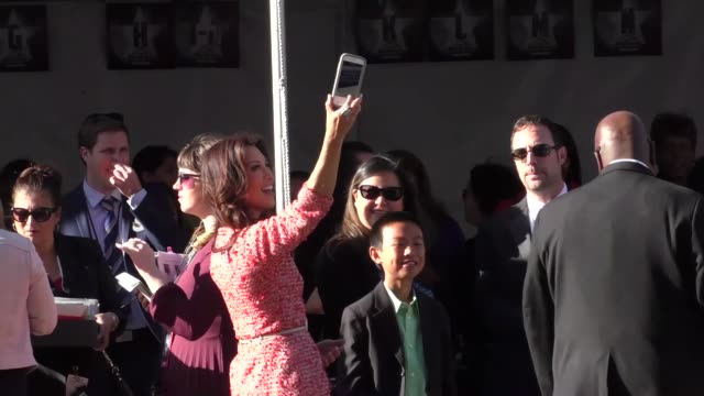 ming-na wen arriving to captain america civil war premiere at dolby theatre in in hollywood in celebrity sightings in los angeles, - ming na stock videos & royalty-free footage