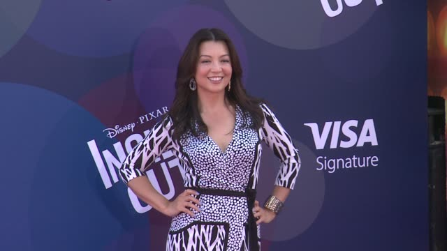 """ming-na wen at disney-pixar's """"inside out"""" los angeles premiere at the el capitan theatre on june 08, 2015 in hollywood, california. - ming na stock videos & royalty-free footage"""