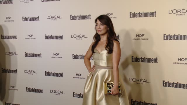 ming-na wen at entertainment weekly's pre-emmy celebration at fig & olive melrose place on september 18, 2015 in west hollywood, california. - ming na stock videos & royalty-free footage
