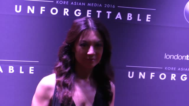 ming-na wen at the 15th annual unforgettable gala at the beverly hilton in beverly hills at celebrity sightings in los angeles on december 10, 2016... - ming na stock videos & royalty-free footage