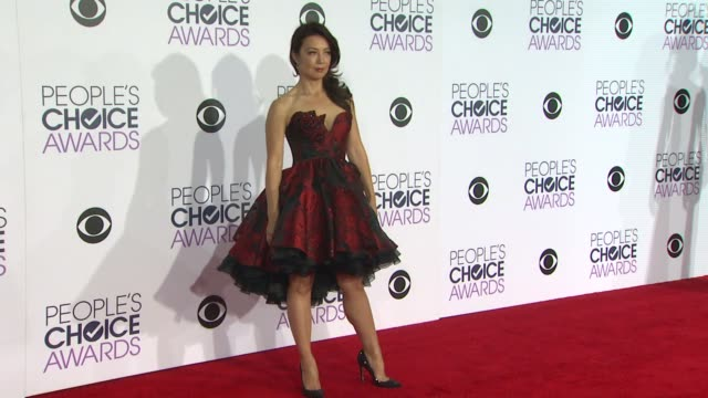 ming-na wen at the people's choice awards 2016 at nokia plaza l.a. live on january 6, 2016 in los angeles, california. - ming na stock videos & royalty-free footage