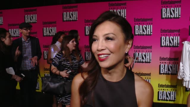 ming-na wen on her comic-con experience and why she wanted to celebrate the last night with ew at entertainment weekly hosts annual comic-con... - ming na stock videos & royalty-free footage