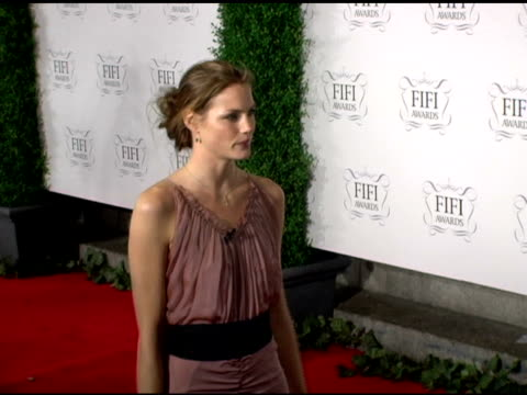 Mini Anden at the 34th Annual Fifi Awards Presented by the Fragrance Foundation at the Hammerstein Ballroom in New York New York on April 3 2006