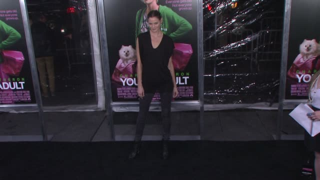 Mini Anden at 'Young Adult' World Premiere Arrivals Red Carpet New York NY United States
