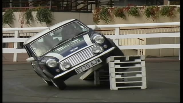 mini car stunts - stunt stock videos & royalty-free footage