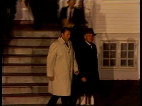 Reykjavik Reagan Gorbachev out of Hofdi Hse