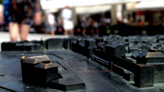 stockvideo's en b-roll-footage met miniature city and people (day) - eastern european culture