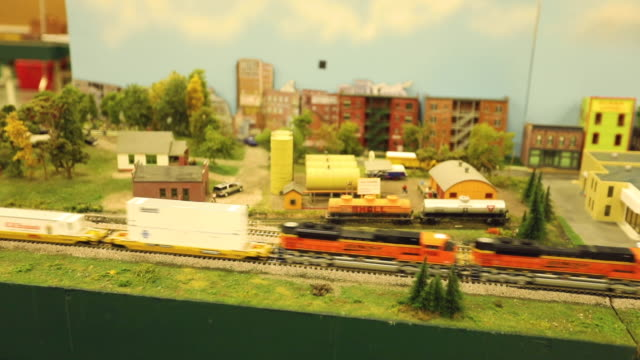 miniature train set - agricultural fair stock videos & royalty-free footage