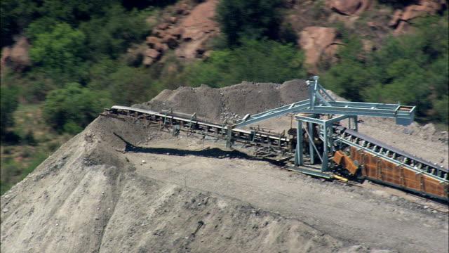 Mining  - Aerial View - North-West,  Bojanala Platinum,  Local Municipality of Madibeng,  South Africa
