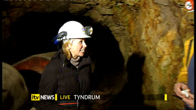 mining company looks to start goldmining in scotland scotland perthshire tyndrum int chris sangster live interview sot - perthshire stock videos & royalty-free footage