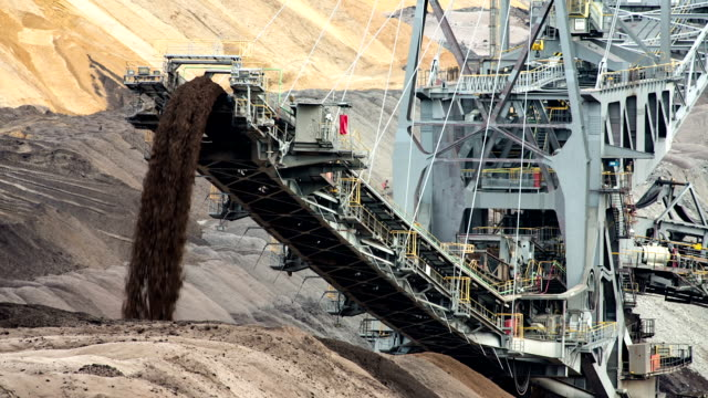mining industry - surface mine stock videos and b-roll footage