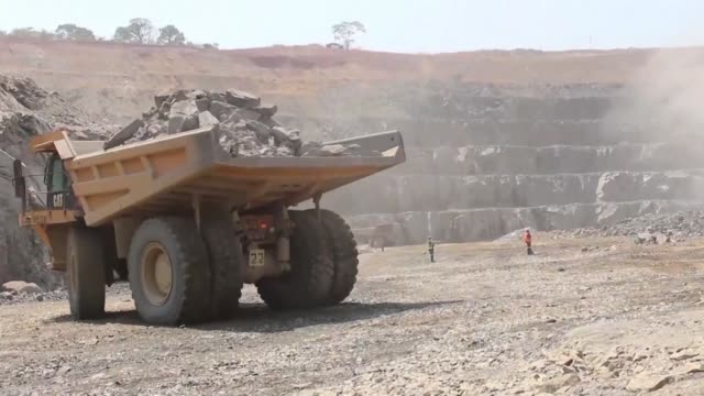Mining is destroying the Katanga province's ecosystem in the Democratic Republic of Congo by polluting the waters of the Katapula river where fish no...