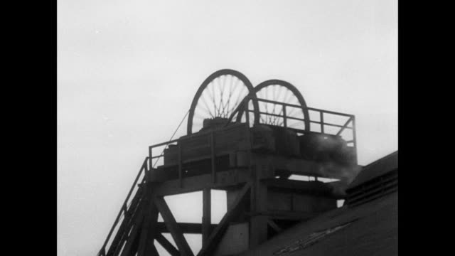 montage mining machinery running in mine shaft / scotland, united kingdom - 1935 stock videos and b-roll footage