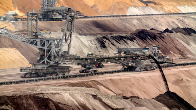 mining machinery - surface mine stock videos and b-roll footage