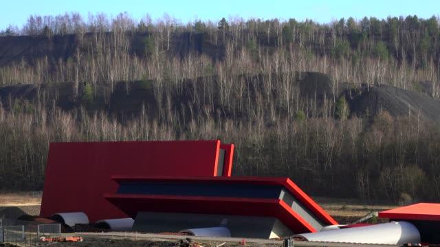 mining museum la mine wendel, petite-rosselle, lorraine, france, europe - lorraine bildbanksvideor och videomaterial från bakom kulisserna