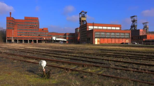 mining museum les mineurs wendel, petite-rosselle, lorraine, france, europe - lorraine stock videos & royalty-free footage