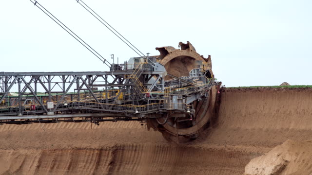 mining - excavator stock videos and b-roll footage