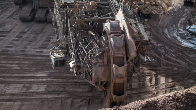 Mining with Bucket Wheel Excavator