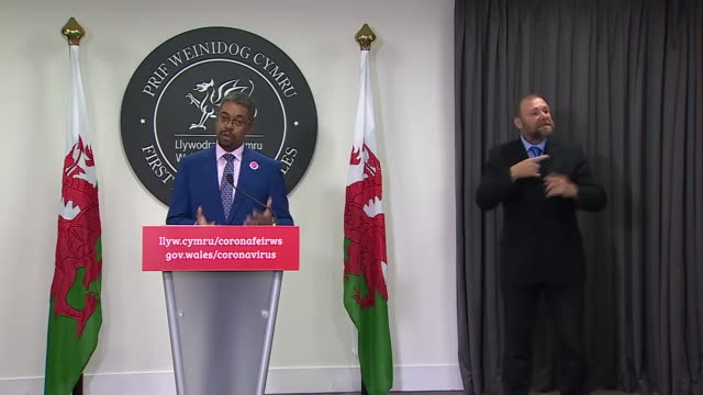 minister for health in wales vaughan gething saying people can expect action to be taken if they report people breaking rules in areas with... - advice stock videos & royalty-free footage