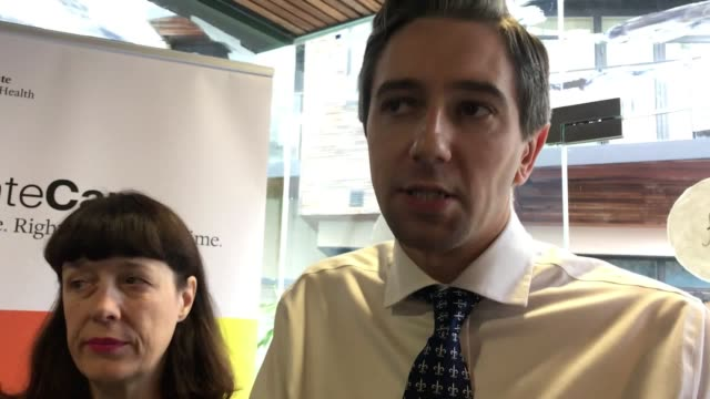 minister for health simon harris announces plans to ban the sale of cigarettes from vending machines across ireland mr harris says it is dangerous... - danger stock videos & royalty-free footage