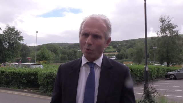 stockvideo's en b-roll-footage met minister for the cabinet david lidington says he thinks at some stage westminster will legislate for same sex marriage in northern ireland if the... - plant stage