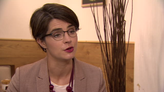 minister for the constitution chloe smith talking about measures being taken so voters are aware of 'fake news' in the runup to elections - artificial stock videos & royalty-free footage