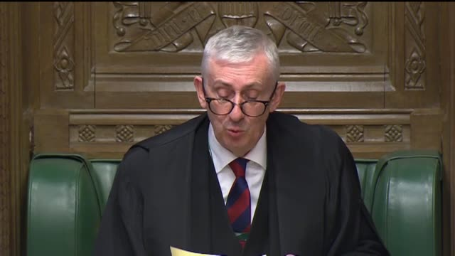 ministers in the house of commons follow guidelines for social distancing during prime minister's questions by sitting apart for the weekly... - sitting stock videos & royalty-free footage