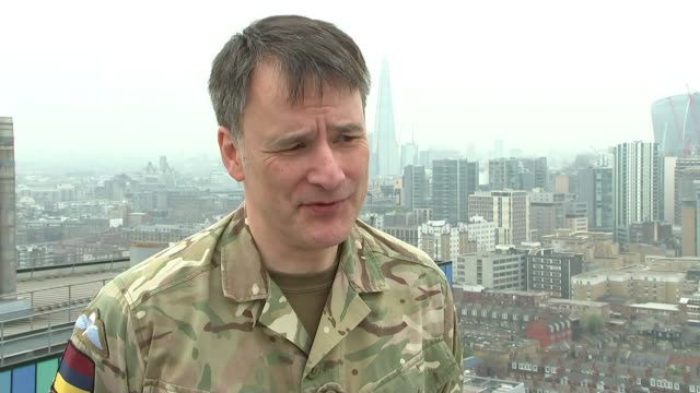 Ministry of Defence invests 5 million pounds in medical technology used in warzones for tube stations and schools ENGLAND London Royal London...