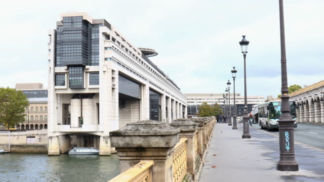 ministry of finance of bercy on november 2019 in paris france - government minister stock videos & royalty-free footage