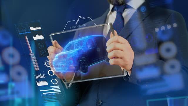 minivan buying examining - 4k resolution - sale stock videos & royalty-free footage