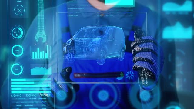 minivan repairing - 4k resolution - electricity stock videos & royalty-free footage