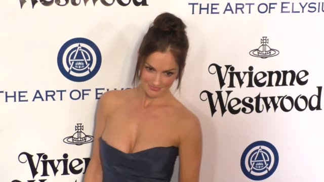Minka Kelly at The Art of Elysium's 9th Annual HEAVEN Gala at 3LABS in Culver City at Celebrity Sightings in Los Angeles on January 09 2016 in Los...
