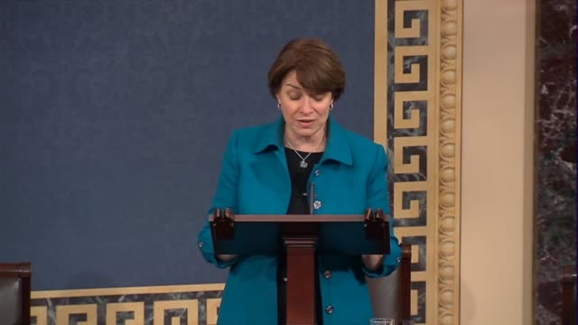 Minnesota Senator Amy Klobuchar says a day before the Federal Communications Commission was to vote on reversing it neutrality that Internet...