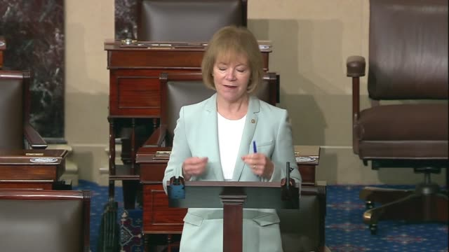 minnesota senator tina smith says in senate floor remarks on criminal justice reform and racial equality after the death of george floyd in... - {{ collectponotification.cta }} stock videos & royalty-free footage