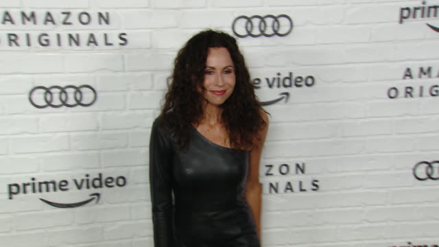 minnie driver at amazon prime video post emmy awards party 2019 at chateau marmont on september 22 2019 in los angeles california - minnie driver stock videos and b-roll footage