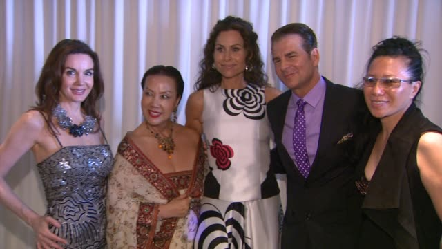 minnie driver at bafta la tv tea 2014 presented by bbc america and jaguar in los angeles ca - minnie driver stock videos and b-roll footage